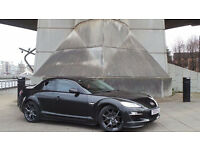 2009 09 MAZDA RX8 R3 2.6 BLACK COUPE 72K MOT 03/18(CHEAPER PART EX WELCOME)