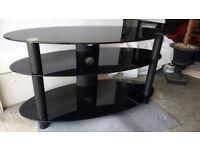Modern Oval Design TV Stand
