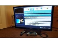 3d TV samsung with a pair of Active 3d glasses 43 inch