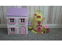 Two Early Learning Centre kids' playhouses. Immaculate condition. Bargain.