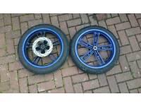 Yamaha yzf r125 wheels