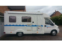 Auto Trail MotorCaravan,Motorhome, Diesel, Sleeps 4, Solar Panel, 2000W inverter, Shower, Samsung TV