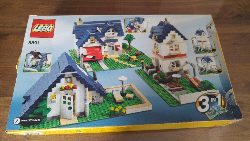 Lego Creator Apple Tree House 5891 Complete Set With Instructions