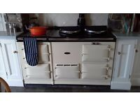 5 Oven Gas AGA in Cream (excellent condition)