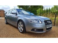 2008 Audi A6 2.0 TDI S-Line (140) Estate 6 Speed Manual / 2 Previous Owners / FSH!