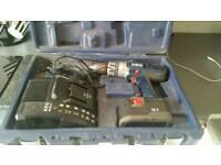 AEG 18 volt cordless battery large drill..