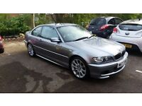 BMW E46 320 Ci M Sport Coupe. Grey leather. Recent Clutch and Reconditioned Brakes.