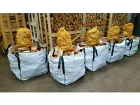 🌳🔥KILN DRIED FIREWOOD🔥🌳HARDWOOD LOGS FOR SALE-DUMPY BAGS/FREE KINDLING(NET)NEWCASTLE/NORTH EAST-