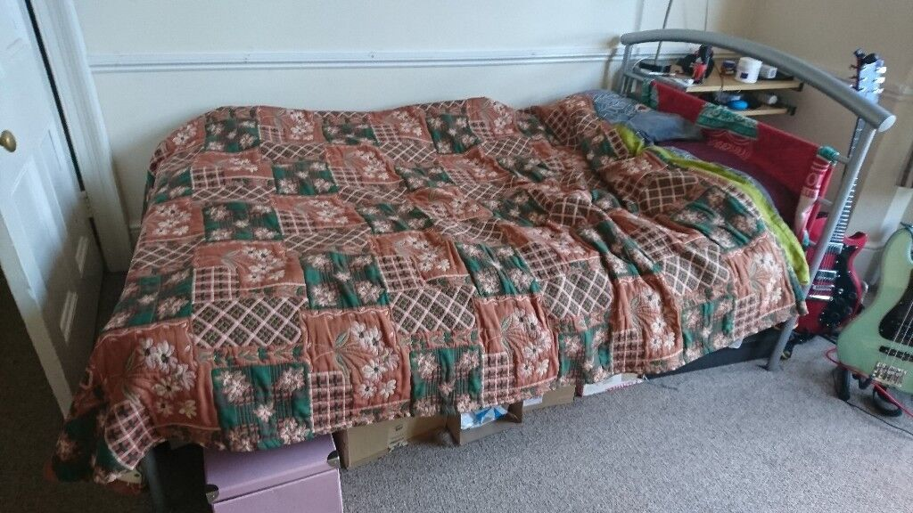 Double Bed (Frame and Mattress)