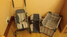 Dolls pram / cot / carrier