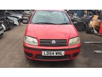2004 Fiat Punto Active 8v 3dr 1.2 Petrol Red BREAKING FOR SPARES