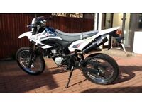 2014 Yamaha wr125 full stainless exhaust.