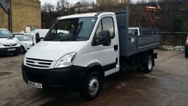 2008 / 58 PLATE Iveco Daily 65c18 3.0d TIPPER 6.5 Tonne only 70k miles from n...