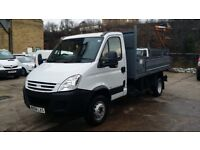2008 / 58 PLATE Iveco Daily 65c18 3.0d TIPPER 6.5 Tonne only 70k miles from new NO VAT NO VAT NO VAT