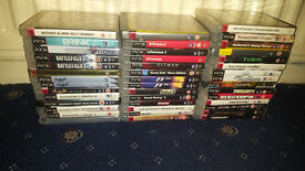 44 Playstation 3 Games (Heavy Rain, Hitman, Batman, Uncharted, Fallout, Red Dead Redemption)