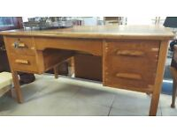 Old Oak School Teachers Desk