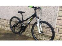 "Kids Mountain Bike 24"" wheels"
