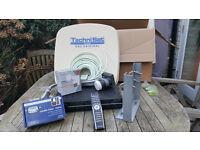 TECHNISAT German Satellite Dish & 500GB Receiver/Recorder