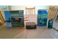 Radio scanner receivers