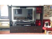 TV unit - Ikea Lappland - black