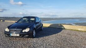 MERCEDES BENZ C CLASS - COUPE - MANUAL - DIESEL - PANORAMIC ELECTRIC GLASS ROOF