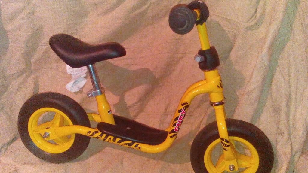Puky balance bike LRM age 2-3, in yellow