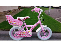 "Girls Cupcake Bike 12"" Frame"