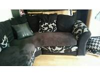 Corner sofa suite couch for sale or swap