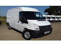 Ford Transit 125 T350 2.2 Euro 5 2013 (62) RWD LWB Medium Roof & NO VAT!!