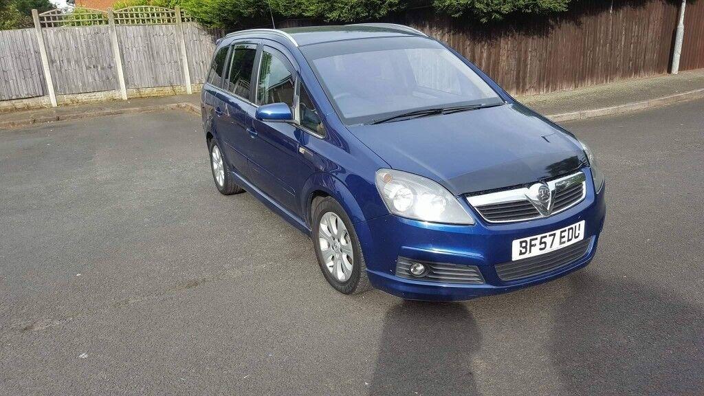 Vauxhall Zafira 1.9 SRI CDTI AUTO PLEASE READ