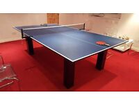 High Gloss Milano Pool, table tennis and dinning table.