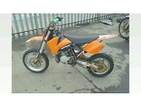 KTM sx65 dirtbike racing bike not quad