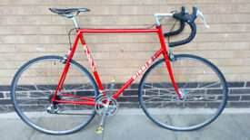 Ribble road bike reynolds 531 competition frame and forks very good condition
