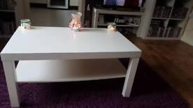 White Ikea Table