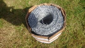 Barbed wire (roll)