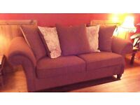 SETEE AND CHAISE LONGUE..MINT CONDITION..NEVER USED AS JUST SITS IN LARGE BEDROOM TO FILL SPACE