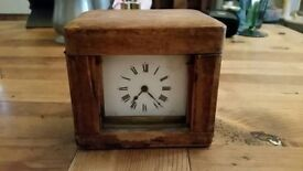 Vintage French carriage clock