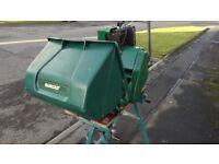 Restored British Qualcast 14inch Petrol Lawnmower
