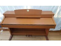 YAMAHA CLAVINOVA CLP-330 DIGITAL PIANO AND STOOL