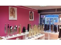 Hair Extensions Supply and Fitting. Looking for social media campaigners in Liverpool