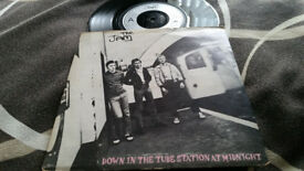 The Jam down in the tube station vintage vinyl lp record