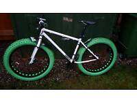 Fat bike swap for racer
