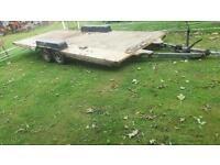 Twin axel trailer 22x7ft
