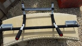 Perfect Fitness Multi-Gym Doorway Pull Up Bar and Portable Gym System, Original
