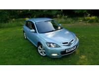For sale in Mazda 3 Sport 57 plate 6 speed speed manual MOT October full V5