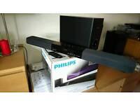Philips sound bar and sub