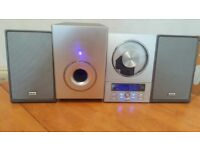 TEAC HI-FI SYSTYEM CD-9X SILVER TONE CD PLAYER RADIO MP3 WITH REMOTE