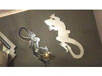 ornamental lizards