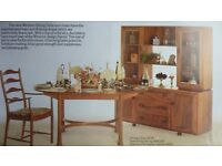 ERCOL SIDEBOARD DISPLAY CABINET - NEVER OUT OF FASHION