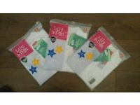 Girl's school polo shirts 8-9 years NEW x 6